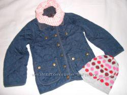 Демисезонная куртка Debenhams на девочку 4-5 лет