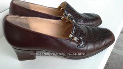 Кожаные туфли Англия р. 40-41 стелька 26. 5 Отличные