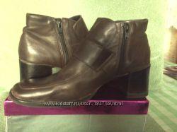 р. 41 стелька 26. 5-27 кожаные ботинки 2 пары Германия