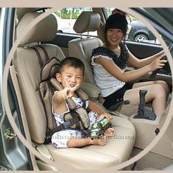 Мобильное, переносное, легкое детское сиденье для авто до 5лет.
