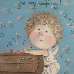 Продам копию картины Евгении Гапчинской
