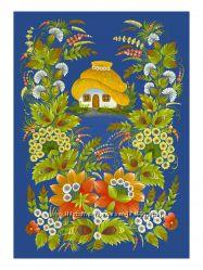 Индивидуальные занятия по петриковской росписи, мастер-классы
