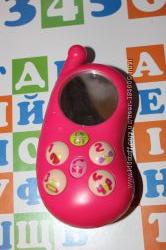 Развивающая игрушка Ouaps Телефон Мими-фон для малышки от 1 года