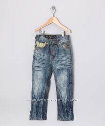 Эксклюзивные джинсы GS 115 Америка для мега стильного парня, р. 4-5 лет