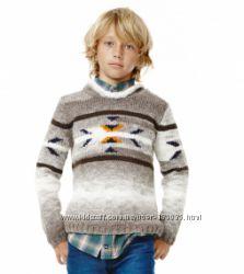 Теплый ультрамодный свитер из эксклюзивной коллекции Ruum, США, р. 5-6 лет