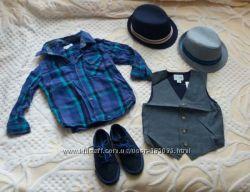 Фирменные рубашки Next, Old Navy, Pumpkin для стильного парня