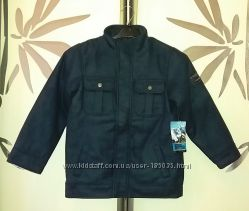 Стильное пальто весна-осень для модного парня из Америки. 7-8 лет