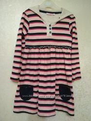 Теплое платье с капюшоном  - туника Primark р. 5-6 лет