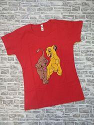 Женская футболка Король ЛЕВ
