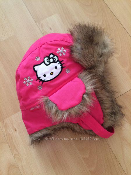 Шапка ушанка H&M Hello Kitty