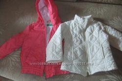 Ветровочка и стеганая курточка Benetton 18-24