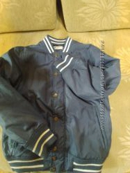 Куртка пилотка бомбер утепленная hm р. 140
