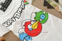 Angry Birds футболки  Для Девочек С рисунком