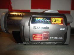 Срочно Видеокамера цифровая Panasonic NV-GS230 в идеале