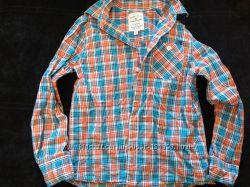 Рубашка Tom Tailor  128-134 для стильного парня