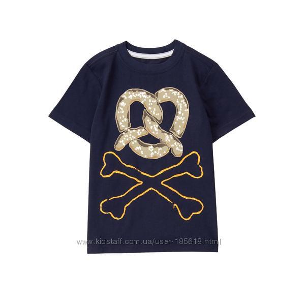 Фирменные хлопковые футболки мальчишкам