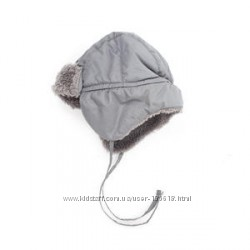 Теплая зимняя шапка ушанка Coccodrillo