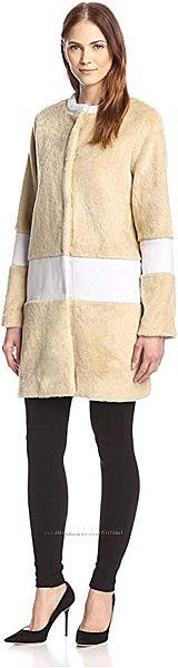 byTiMo брендовое меховое пальто пролет