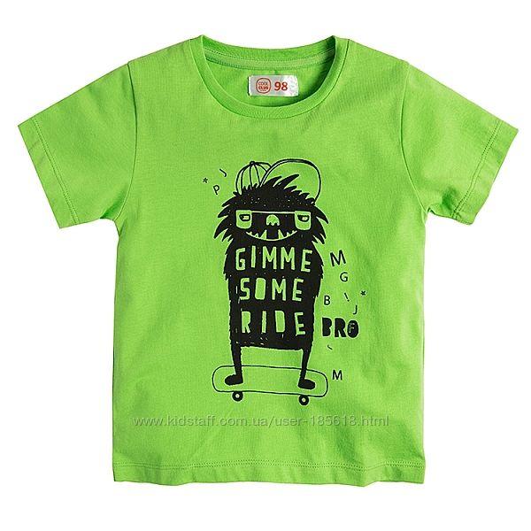 Хорошие футболки мальчишкам Cool Club