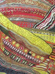 Безумно красивый шелковый платок Max Mara оригинал
