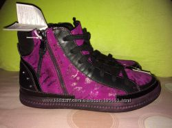Ботинки новые кожа- Geox, 39 размер