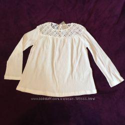 Блузка Zara на девочку 8 лет на 128 см