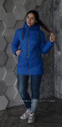 Удлиненная деми куртка 170 Алена, р 44-54, разные цвета