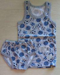 Комплекты белья для мальчика от 86 до 116 размера