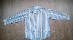 Рубашка школьная в полоску