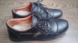 Туфли школьные, черные, классика