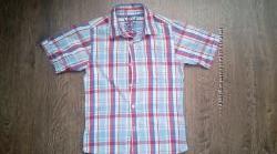 Рубашка REBEL в клеточку, короткий рукав