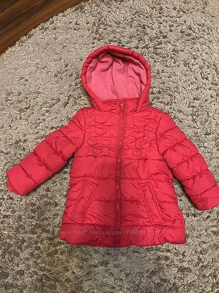 Куртка деми для девочки 4 лет