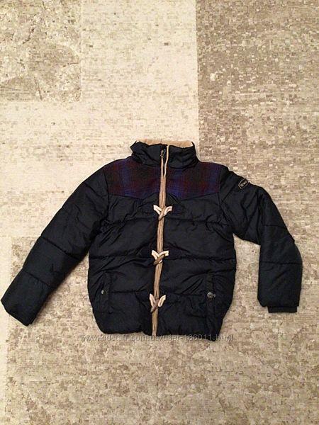 Качественная зимняя куртка итальянской фирмы Brums на мальчика 8 лет