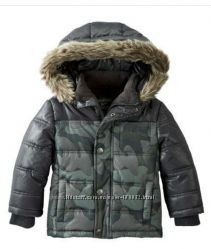 Зимняя курточка OshKosh размер 7, маломерит