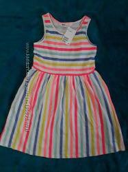 Полосатое платье НМ 8-10 ле