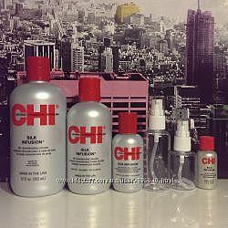 Восстанавливающий шёлк инфузия для волос CHI keratin silk infusion-USA