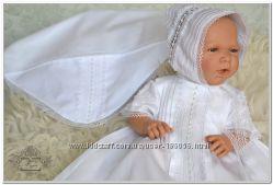 Крестильная рубашка для мальчика, девочки  Жемчужина