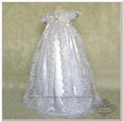 Обворожительное крестильное платье Анна. Под заказ