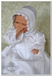 Традиционная крестильная рубашка для мальчиков и девочек Царское Село