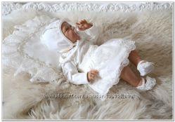 Комплект набор для новорожденного Грация с юбочкой
