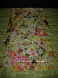 Нежнейший шарф батик шелк ручная работа