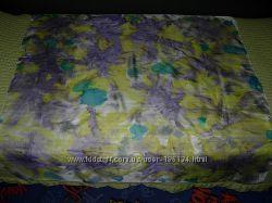 Платок весна батик ручная раб шелк
