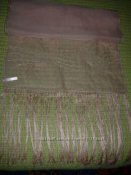 шаль John Lewis шелк руч раб оригинал бисер органза