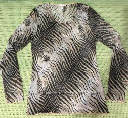 Дизайнерская шик блуза сетка Roberto Cavalli оригинал