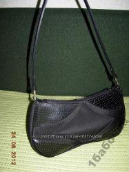 Дизайнерская сумка DEBENHAMS Перфорир кожа ткань.
