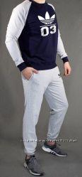 новый мужской спортивный костюм Adidas