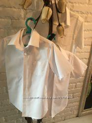 наши рубашки M&S и Next 128-134 рост 8-9лет