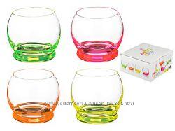 Набор стаканов с цветным дном Samba, Crazy Bohemia