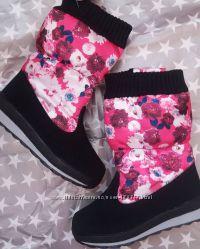 Зимняя детская обувь. Дутики для девочек
