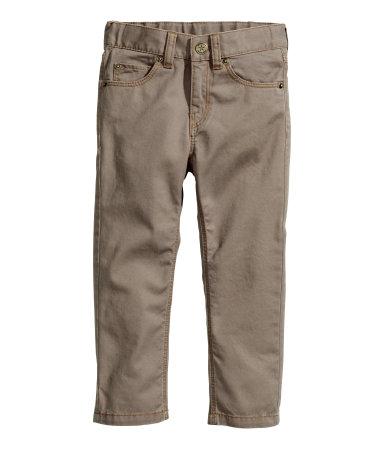 Отличные брючки и джинсы  от H&M для маленьких модников